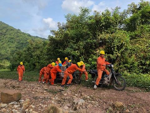 Nỗ lực cấp điện trở lại cho huyện đảo Cô Tô, Vân Đồn 2