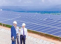 Vận hành thương mại Nhà máy điện mặt trời Sông Lũy 1