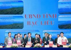 Ký thỏa thuận đầu tư dự án điện gió KOSY Bạc Liêu