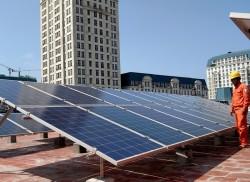 'Lan tỏa' điện mặt trời trên mái nhà tại Thủ đô