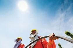 Hệ thống điện trong cao điểm mùa nắng nóng