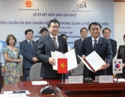 Việt-Hàn ký ghi nhớ về tiêu chuẩn kỹ thuật trong quản lý hệ thống điện