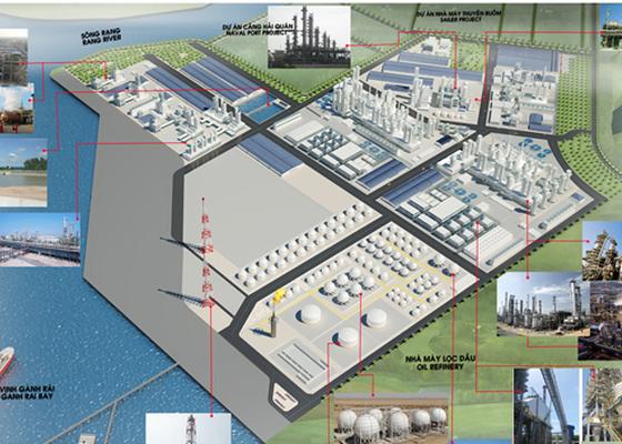 Cập nhật tiến độ dự án Tổ hợp hóa dầu miền Nam