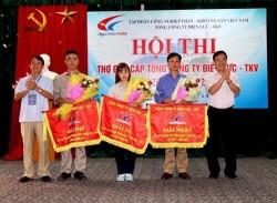 Tổng công ty Điện lực - TKV tổ chức Hội thi thợ giỏi lần thứ III