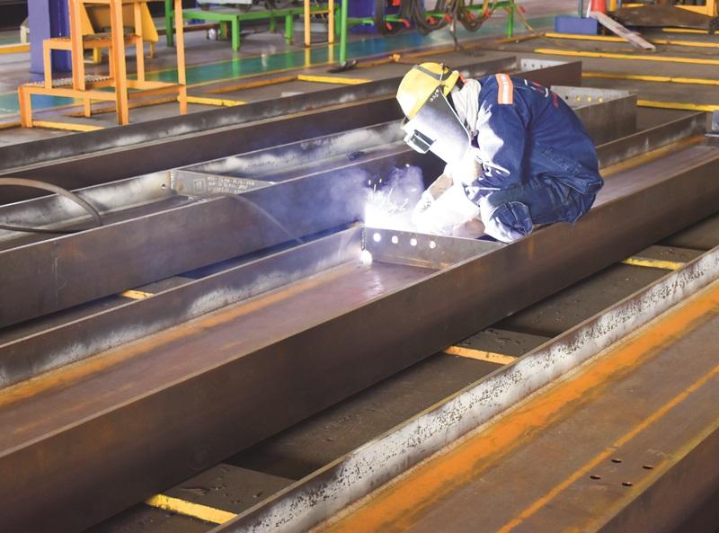 Doosan Vina cung ứng kết cấu thép cho đối tác Brunei