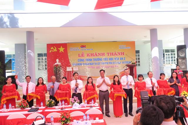 Khánh thành công trình trường học tại Phú Yên do Vietsovpetro tài trợ