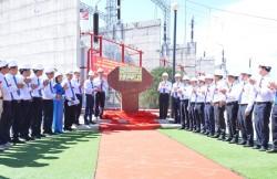 Gắn biển công trình TBA 500 kV Vĩnh Tân, chào mừng Đại hội Đảng bộ EVNNPT