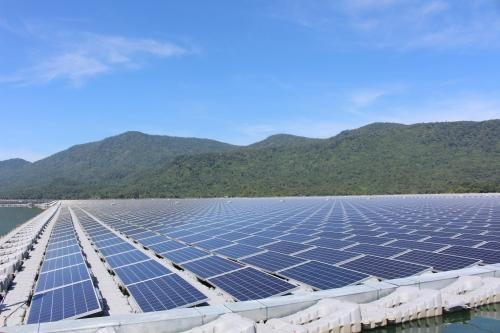 Da Mi Solar Power Plant one year after operation date