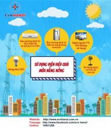Các giải pháp tiết kiệm điện mùa nắng nóng