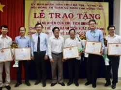 EPS và Nhiệt điện Phú Mỹ nhận bằng khen về công tác ATVSLĐ