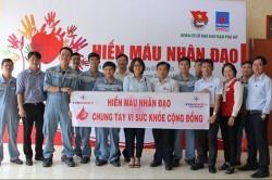 Đoàn Thanh niên EVNGENCO3 hưởng ứng phong trào hiến máu nhân đạo