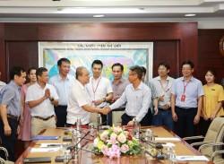 Ký bàn giao mặt bằng cho dự án mở rộng Lọc dầu Dung Quất