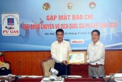 PV GAS tiếp tục đồng hành cùng Giải bóng chuyền vô địch Quốc gia 2020