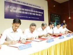 Giao nhiệm vụ giữa HĐTV với Người đứng đầu đơn vị trực thuộc EVNHCMC