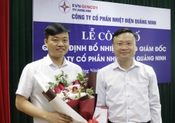 Công bố quyết định bổ nhiệm Tổng giám đốc Công ty CP Nhiệt điện Quảng Ninh
