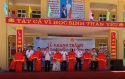 Khánh thành Trường THCS xã Thanh Tùng (Nghệ An) do PV GAS tài trợ