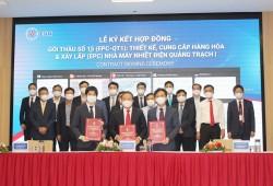 Ký hợp đồng EPC dự án Nhiệt điện Quảng Trạch 1