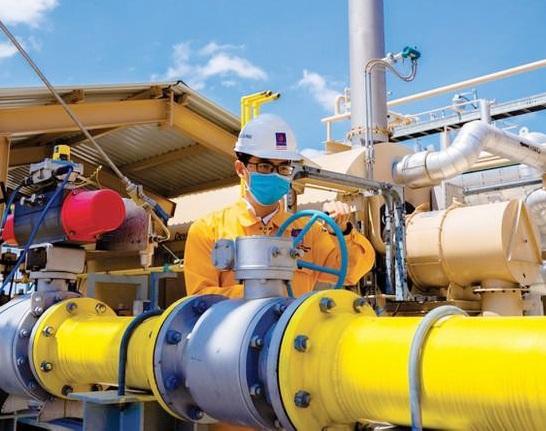 PV GAS tiếp nhận nguồn khí từ Giai đoạn 2A - mỏ Sư Tử Trắng