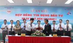 Ký kết Hợp đồng tín dụng đầu tư dự án thủy điện Xekaman1