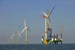 Nhà máy điện gió trên biển đầu tiên ở Việt Nam chuẩn bị phát điện