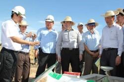 Đoàn giám sát của Quốc hội kiểm tra công tác di dân Dự án Điện hạt nhân Ninh Thuận
