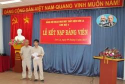 Công ty thủy điện Sơn La: Xây dựng Đảng gắn liền với nhiệm vụ sản xuất