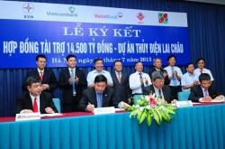 Ký hợp đồng tín dụng vay vốn Dự án thuỷ điện Lai Châu