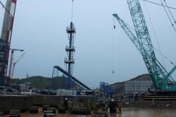 Khởi công lắp đặt thiết bị lò hơi 2B dự án Nhiệt điện Mông Dương 1