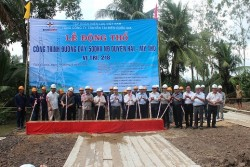 Starting the construction of Duyen Hai - My Tho 500kV transmission line project