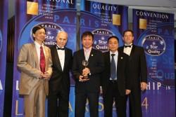 PVC - MS nhận Cúp vàng Ngôi sao quốc tế về chất lượng