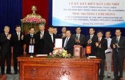Khởi động dự án Nhà máy nhiệt điện Quảng Trị