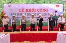 Khởi công dự án điện năng lượng mặt trời tại Quảng Bình