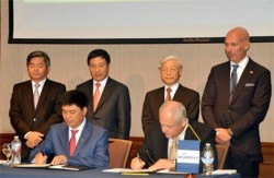 Việt Nam - Hoa Kỳ ký thỏa thuận về hợp tác dầu khí