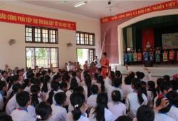 PC Hà Nam tổ chức ngoại khóa tiết kiệm điện cho học sinh
