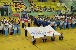 EVN SPC khai mạc hội thao CNVC-LĐ 2015