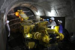 Triển khai dự án khai thác hầm lò mỏ Khe Chàm II - IV