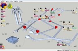 Hệ thống giám sát quản lý điện tự động tại than Hà Lầm