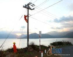 Cấp điện lưới quốc gia cho đảo Trần và đảo Cái Chiên
