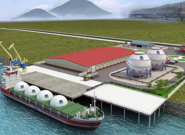 Tổng kho sản phẩm dầu khí Đà Nẵng đi vào hoạt động