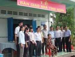 Công đoàn EVN SPC trao nhà cho gia đình chính sách