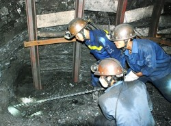 Mỏ hầm lò II -TKV đào 5.100m lò trong 6 tháng