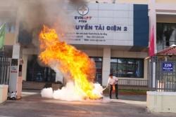 PTC2 diễn tập chữa cháy và cứu nạn cứu hộ