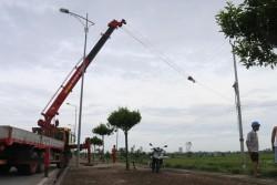 Bão số 1 gây thiệt hại lớn đến lưới điện của EVN NPC