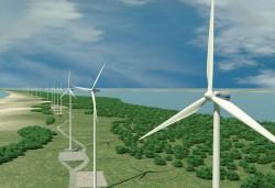 Chấp thuận chủ trương đầu tư Dự án Điện gió Hướng Phùng 1