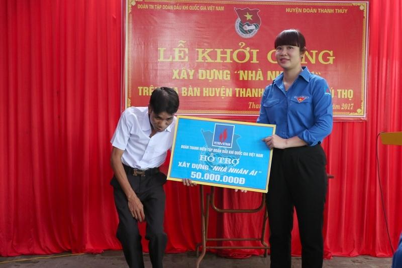 Đoàn Thanh niên PVN tổ chức hoạt động xã hội tại Phú Thọ 1