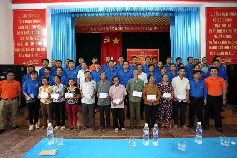 Đoàn Thanh niên PVN tổ chức hoạt động xã hội tại Phú Thọ 3