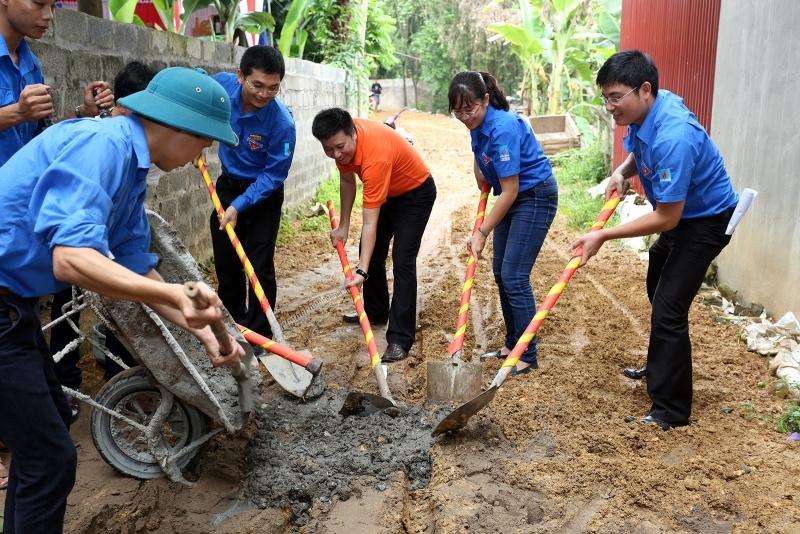 Đoàn Thanh niên PVN tổ chức hoạt động xã hội tại Phú Thọ 4