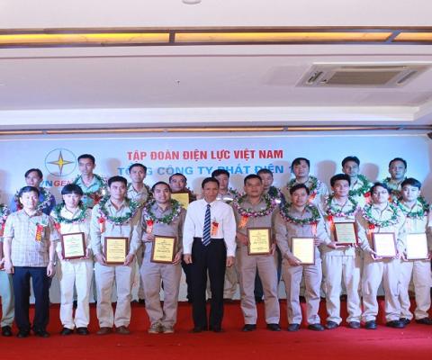 GENCO1 vinh danh công nhân lao động và an toàn vệ sinh viên giỏi
