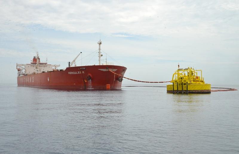 Nhập chuyến dầu đầu tiên trong bảo dưỡng lọc dầu Dung Quất 1