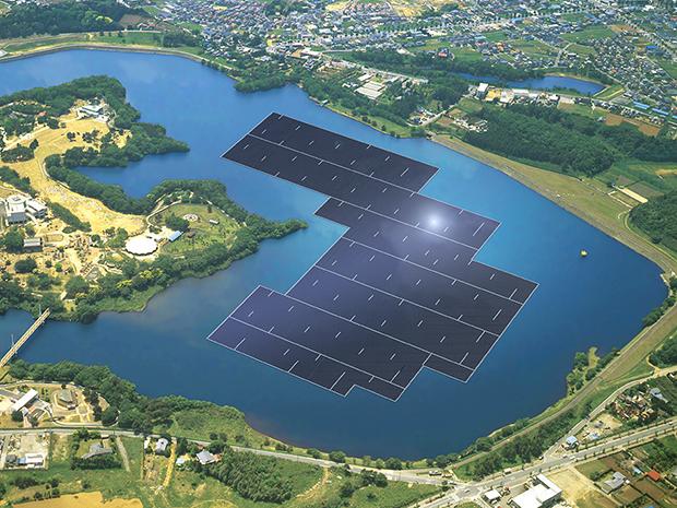 Bình Định có tiềm năng phát triển điện mặt trời trên hồ nước